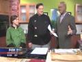 Chef Johnny Prep Prepares Ratatouille Strudel on Fox 2 Cooking School