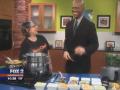 Sweet Lorraine's Makes Spinach & Walnut Pesto Mac 'n Cheez on Fox 2 Meatless Monday